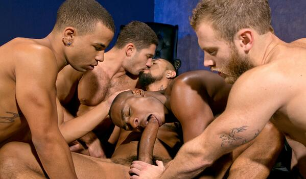 Muscle Studs Safe Group Fuck